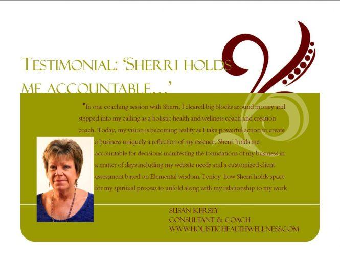Testimonial Susan Kersey