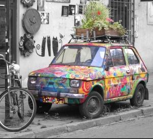 Creative Content Marketing Vehicle